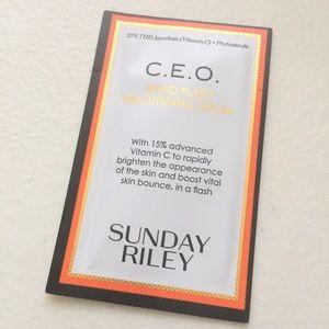 SUNDAY RILEY CEO BRIGHTENING SERUM SAMPLE 1ml